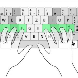 Typing-home-position